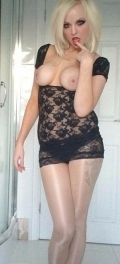 Big tits blonde - 20 something in ann summers lingerie