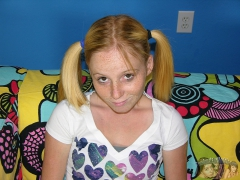 Petite Redhead Freckled Face Teen