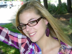 Hot Amateur Glasses Wearing Blonde Teen