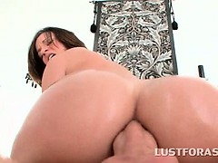 oily-redhead-riding-giant-pecker-in-her-tight-butt-hole