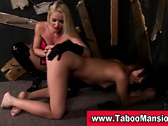 lesbo-domina-spanks-and-fingers-bound-hoes-ass-in-fetish