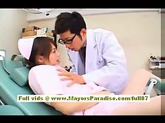 akiho-yoshizawa-sexy-asian-nurse-enjoys-teasing-the-doctor