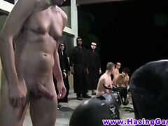 Straight College Amateurs Use Toy For Their Initiation