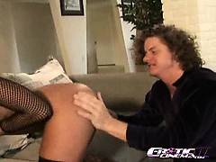 Sandra Romain gets her pink hole fucked deep and hard