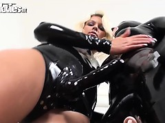 kinky-latex-clad-amateur-babes-fondling-each-other