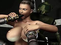 3D Animation – Robots Sex Attack