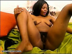 black-babe-with-hairy-pussy