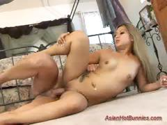 asian hot bunny gets pounded