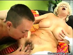 dick sucking granny get her cunt licked