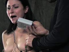 Nipple Pumped Bdsm Sub Whipped