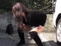 asian-teen-squats-to-piss-in-public