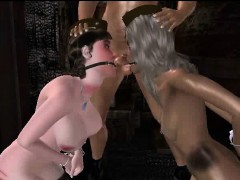 tied-up-3d-cartoon-brunette-gets-toyed-and-fucked