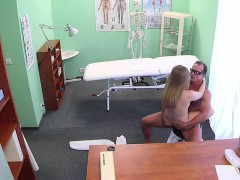 doctor-fuck-brunette-patient-on-the-desk-in-fake-hospital
