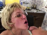 Mature in glasses fucks