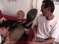 blonde-in-fishnets-cuckolds-old-husband
