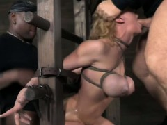 restrained-sub-in-roughsex-threeway