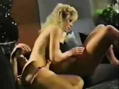 Hot Blonde On The Couch Fucking Classic