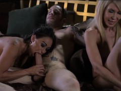 Ericka Lauren and Claudia Valentine Double Team Wolf Hudson