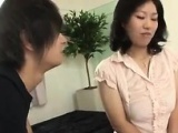 Horny Japanese Mother With Breasts Milk