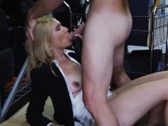 Sexy Blonde Milf Pawns Her Pussy And Pounded At The Pawnshop