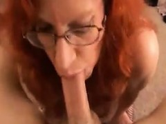busty-red-haired-granny-pleasing-dick-pov