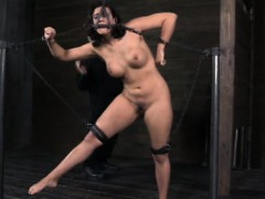 bdsm-sub-chained-up-and-punished-severly