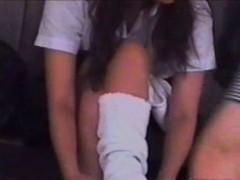 Japanese School Girl Pants Observation