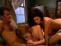 Sexy Redhead Enjoying A Cock In A 3some