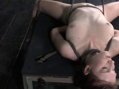 rope-hogtied-bondage-with-brunette-submissive