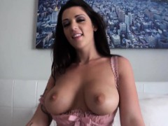Anal loving amateur with monster boobs