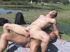 ass-rimming-and-latin-bareback-beside-a-pool