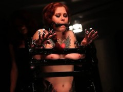 tied-up-redhead-getting-cunt-rubbed