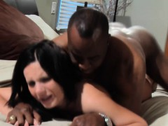 whore-wife-gets-black-creampie-in-her-pussy
