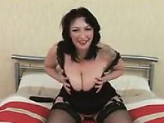busty-milf-using-her-big-black-dildo