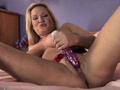 rachel passion purple dildo solo