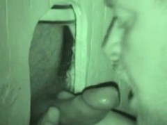 Cockhungry Auntie Sucks At Seedy Gloryhole