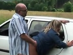 sucking-and-fucking-outdoors-at-the-car