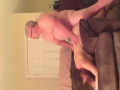 John Fucking His Wife On The Sofa