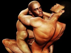 3d gays fuck straight muscle boys! – Gay Porn Video