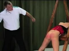 blonde-gets-her-butt-spanked