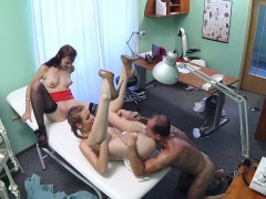 fakehospital-nurse-joins-doctor-and-patient-for-threesome