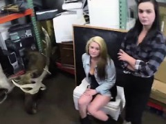 Pawn Cash To Fuck Lesbian Couple On Spycam