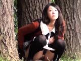Japanese sluts public pee
