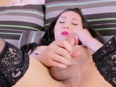 asian-tgirl-masturbating-in-lingerie-closeup