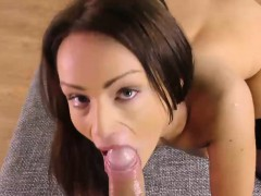 sophie lynx eats and nails penis in pov style