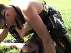 femdom-fetish-slut-pegging-subs-ass-outdoors