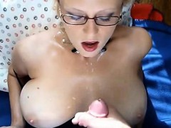 hot-mama-with-glasses-takes-his-cum-all-over