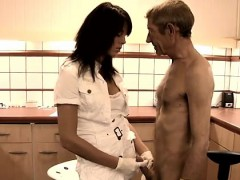 Old And Young Girl Free Video Dokter Petra Is Examining The