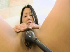 Kumiko Katsura – Mature Jav Gets Pussy Plugged And Creampied