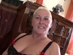 big granny watch porno flicks and gets banged by stud
